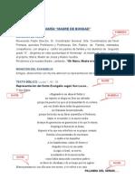 HOMENAJE A MARIA - 2º A - 2013