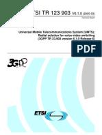 3GPP Video Call in UMTS