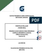 Cover & Isi Kandungan Folder PISMP