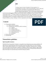 Gene Nomenclature - Wikipedia, The Free Encyclopedia