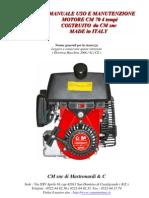 (4t) Manuale Motore Cm 70