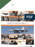 2013 Australia Defence White Paper