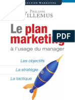 Le Plan Marketing Al Usage Du Manager