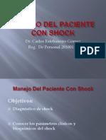 MANEJO DEL PACIENTE CON SHOCK.pptx