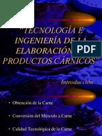 TECNOLOGÍA E INGENIERÍA CARNE