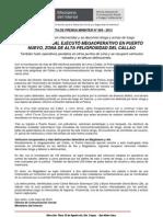POLICÍA NACIONAL EJECUTÓ MEGAOPERATIVO EN PUERTO NUEVO, ZONA DE ALTA PELIGROSIDAD DEL CALLAO
