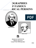 Famous Historical Persons