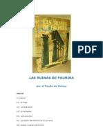 Las Ruinas de Palmira de Volney
