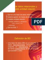Bases de Datos,.