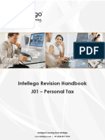J01 Personal Tax Study Guide