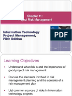 Chapter 11 Project Risk Management