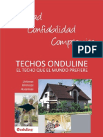 Informacion Techos Onduline