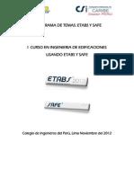 Curso ETABS 2013