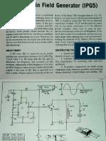 Pocket Pain Field Generator