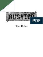 Bushido ND Rules BW