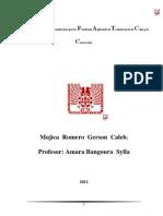 2.-Proceso Industrial de Manofactura por la Fundición aplicando la Transferencia de Q por Convección.Índice.INVESTIGACION (2)