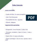 Ficha Literaria Surazul