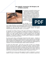 Transmisores de Dengue Fiebre Amarilla Malaria Uta