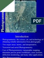 Photogrammetry I