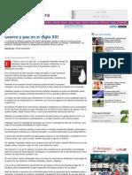 Guerra y Paz en El Siglo XXI - LR21.Com.uy