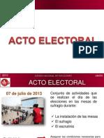 Acto Electoral