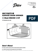 Chamberlain WD822KD Garage Door Opener