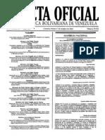 20101001, AN - Ley Orgánica del Tribunal Supremo de Justicia
