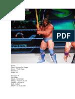WWE All Stars Caw formulas