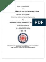 wirelesss infra red communication through ir led