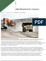 Ottawa qualifie les sables bitumineux de «ressource renouvelable» _ Le Devoir