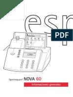 Manual Nova 60 Informaciones Generales s