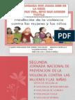 Jornada Nacional de Prevencion de La Violencia Contra