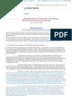DivisionAndDestruction of Xiongnu