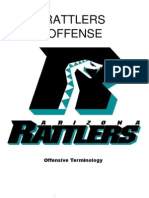2008 Arizona Rattlers Offensive Playbook