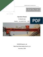 11# EOT Crane Operation Manual