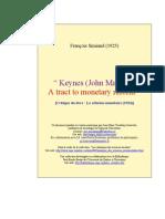 A Tract Monetary Reform