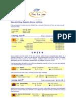 Vistadome Peru Luggage Allowance