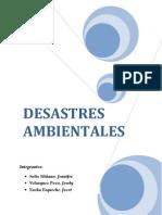 Trabajo Desastres Ambientales[1]