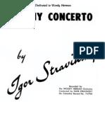 Ebony Concerto - Igor Stravinsky