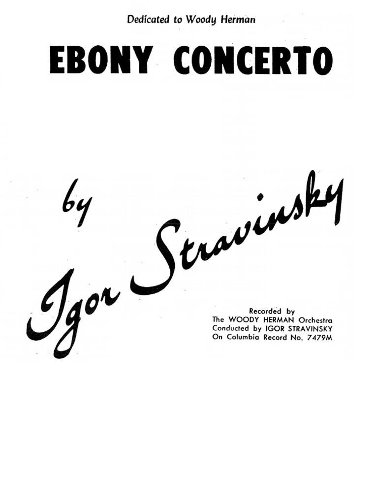 Ebony Concerto 54