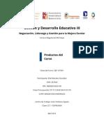 Gestión y desarrollo educativo III