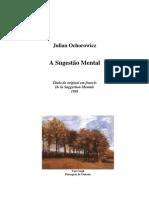 A Sugestão Mental (Julian Ochorowicz)