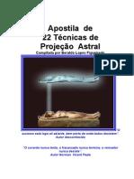Apostila de 22 Técnicas de Projeção Astral (Beraldo Lopes Figueiredo)