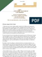 Juan Pablo II - Carta a Los Artistas