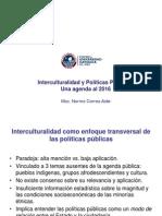 InterculturalidadPPT Una Agenda Al 2016