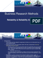 Reliability and Reliability Analysis (Business Research Methods).ppt