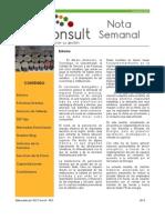 Nota Semanal 04-05-13