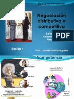 Sesión 4 - Negociación distributiva