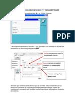 Configuracion de Un Servidor Ftp en Packet Tracer