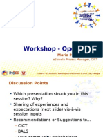 Operations - Workshop